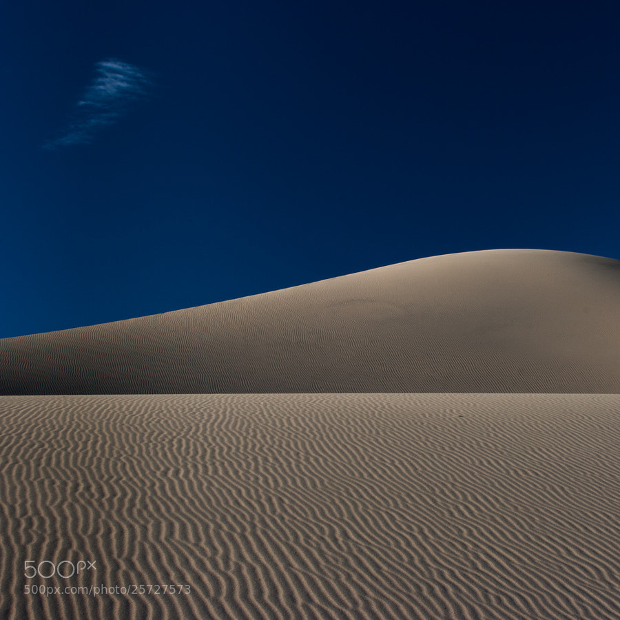 Some blue sky & sand dunes for minimal Monday