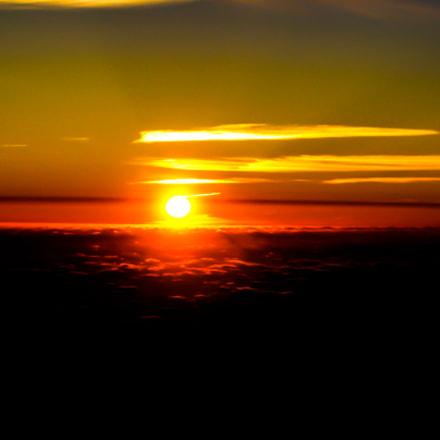 Sunrise at La Palma, Canon POWERSHOT S45