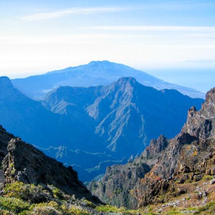 View over La Palma, Canon POWERSHOT S45