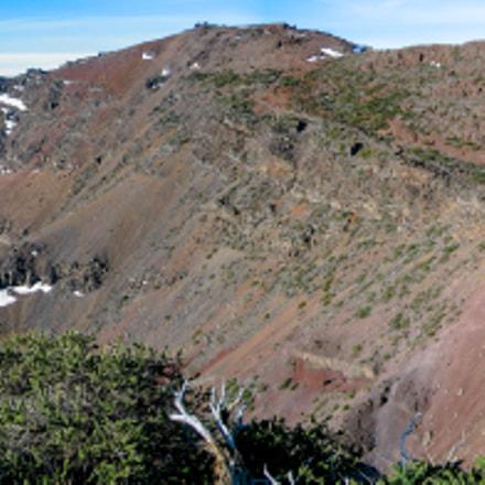 Panorama of caldera, Canon POWERSHOT S45