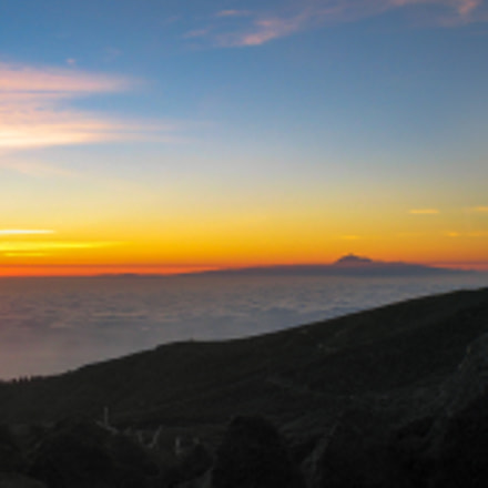 Panorama of La Palma, Canon POWERSHOT S45