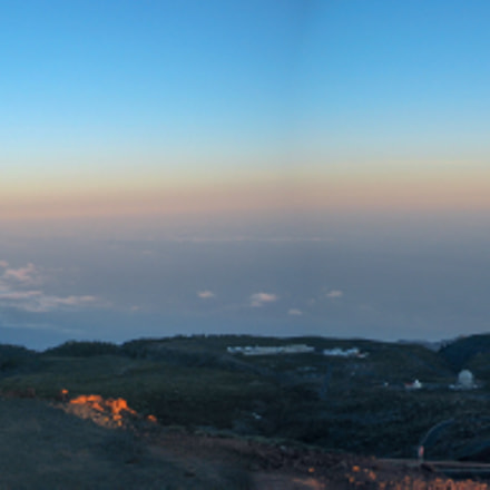 Shadow of La Palma, Canon POWERSHOT S45