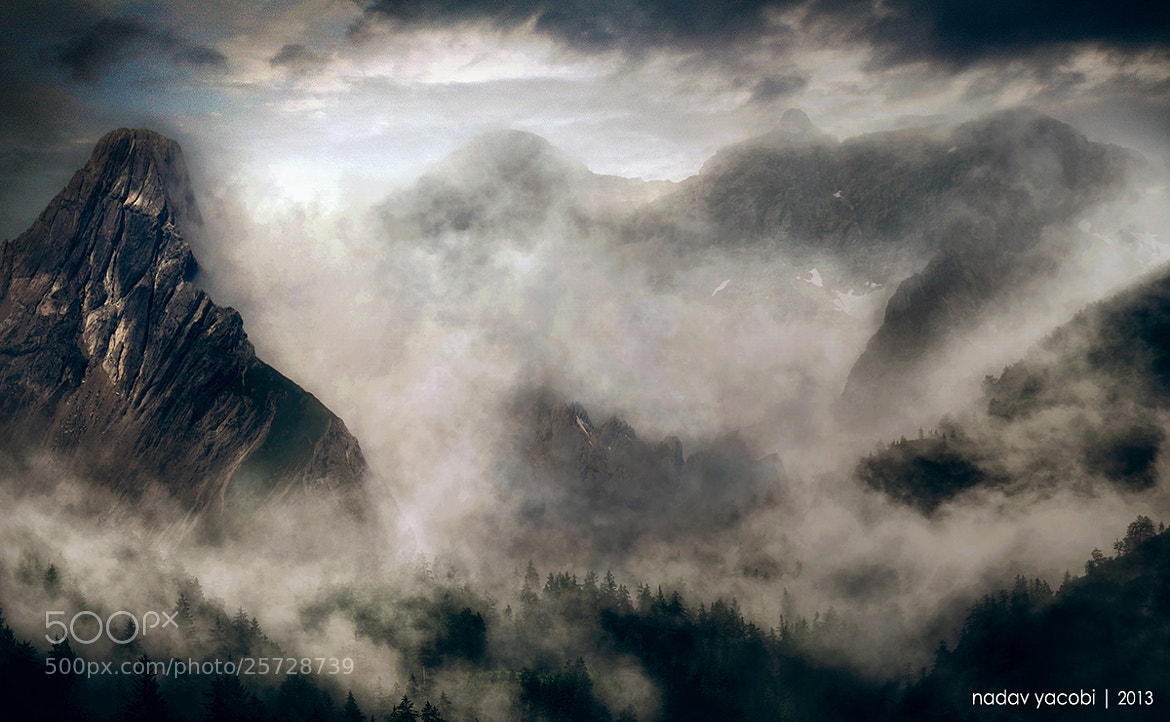 Photograph Misty Mountain's Cold by Nadav Yacobi on 500px