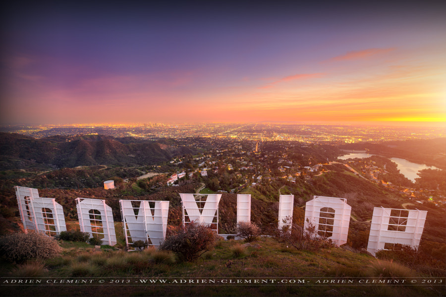 Photograph HOLLYWOOD SIGN ADRIEN CLEMENT by Adrien Clement on 500px