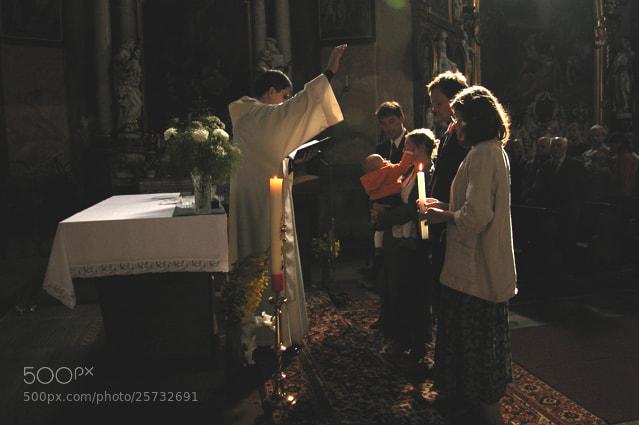 Photograph intimate christening by Zbyněk Havlín on 500px