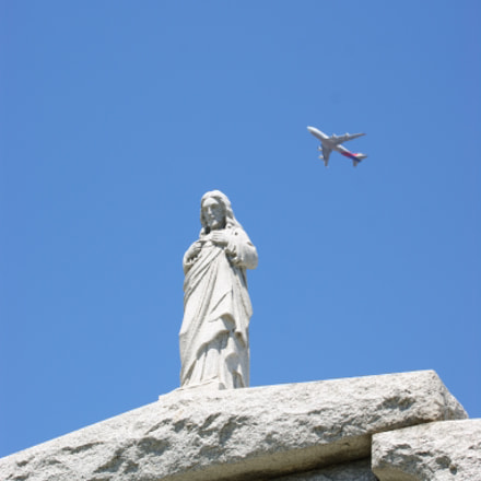 Missed Flight to Salvation, Sony DSLR-A390, Sony DT 55-300mm F4.5-5.6 SAM (SAL55300)