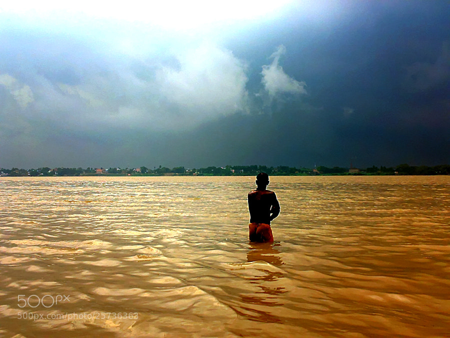 Photograph Monsoon On Ganges by Joyjeet Paul on 500px
