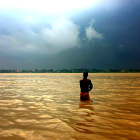 Monsoon On Ganges by Joyjeet Paul (JoyjeetPaul)) on 500px.com