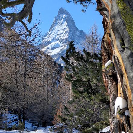 Blick auf's Matterhorn, Panasonic DMC-LF1