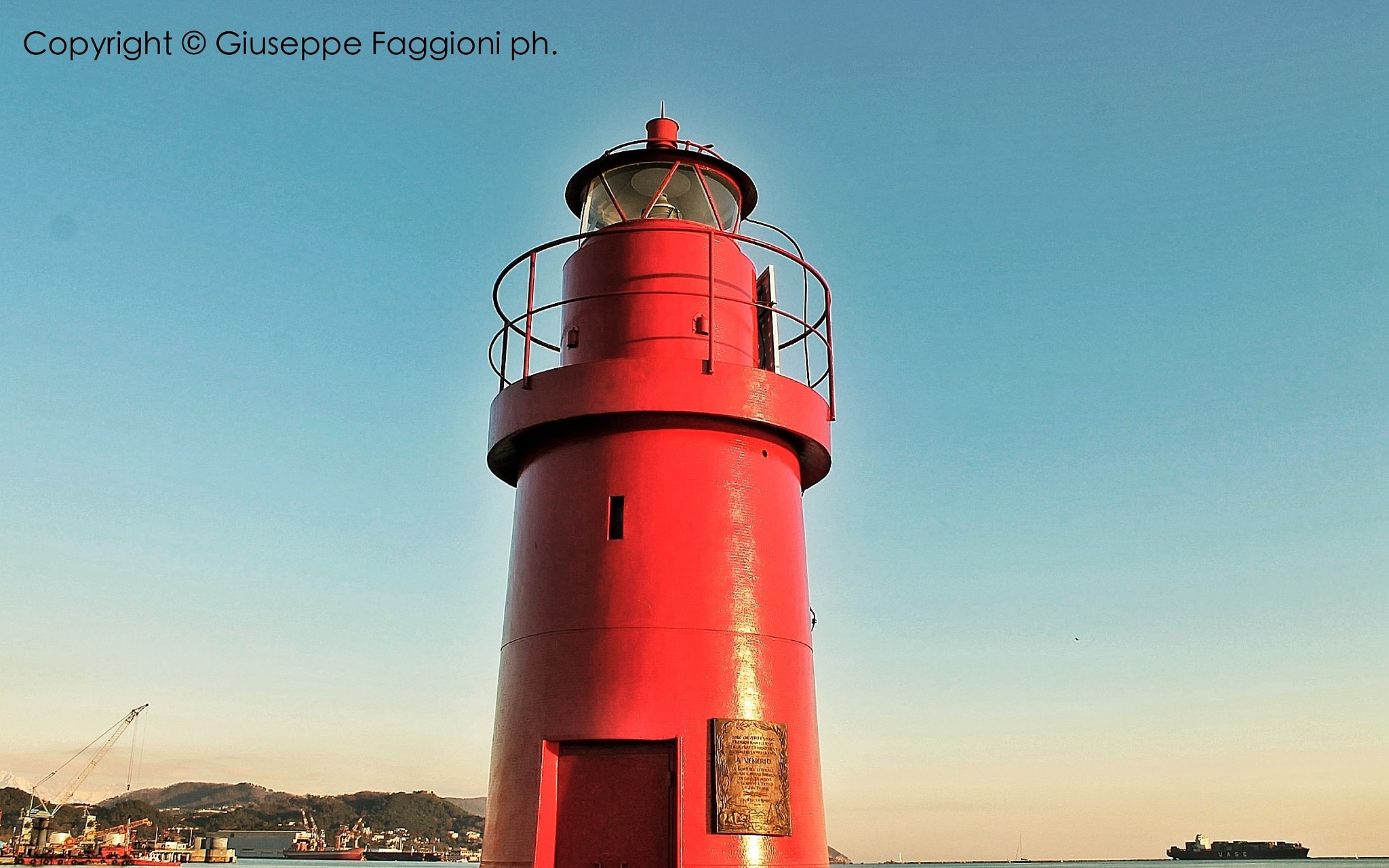 Photograph Lighthouse at Sunset by Giuseppe  Faggioni on 500px