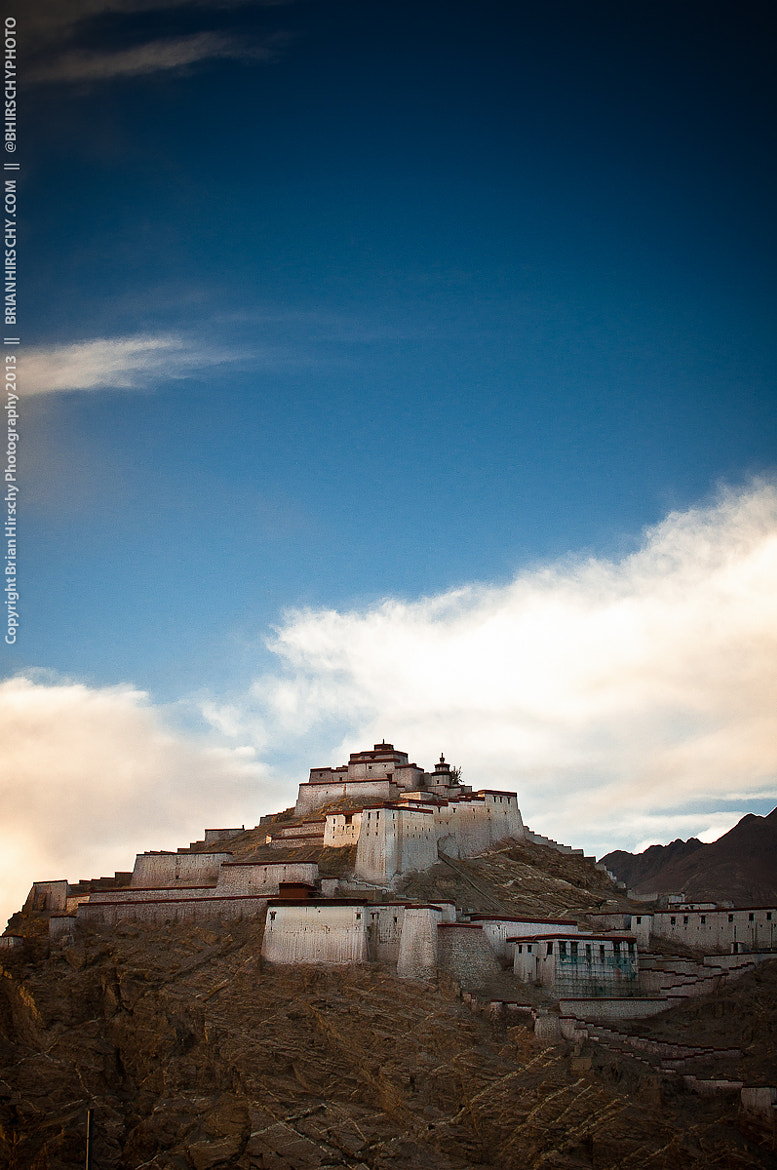 Photograph Gyantse Dzong by Brian Hirschy on 500px