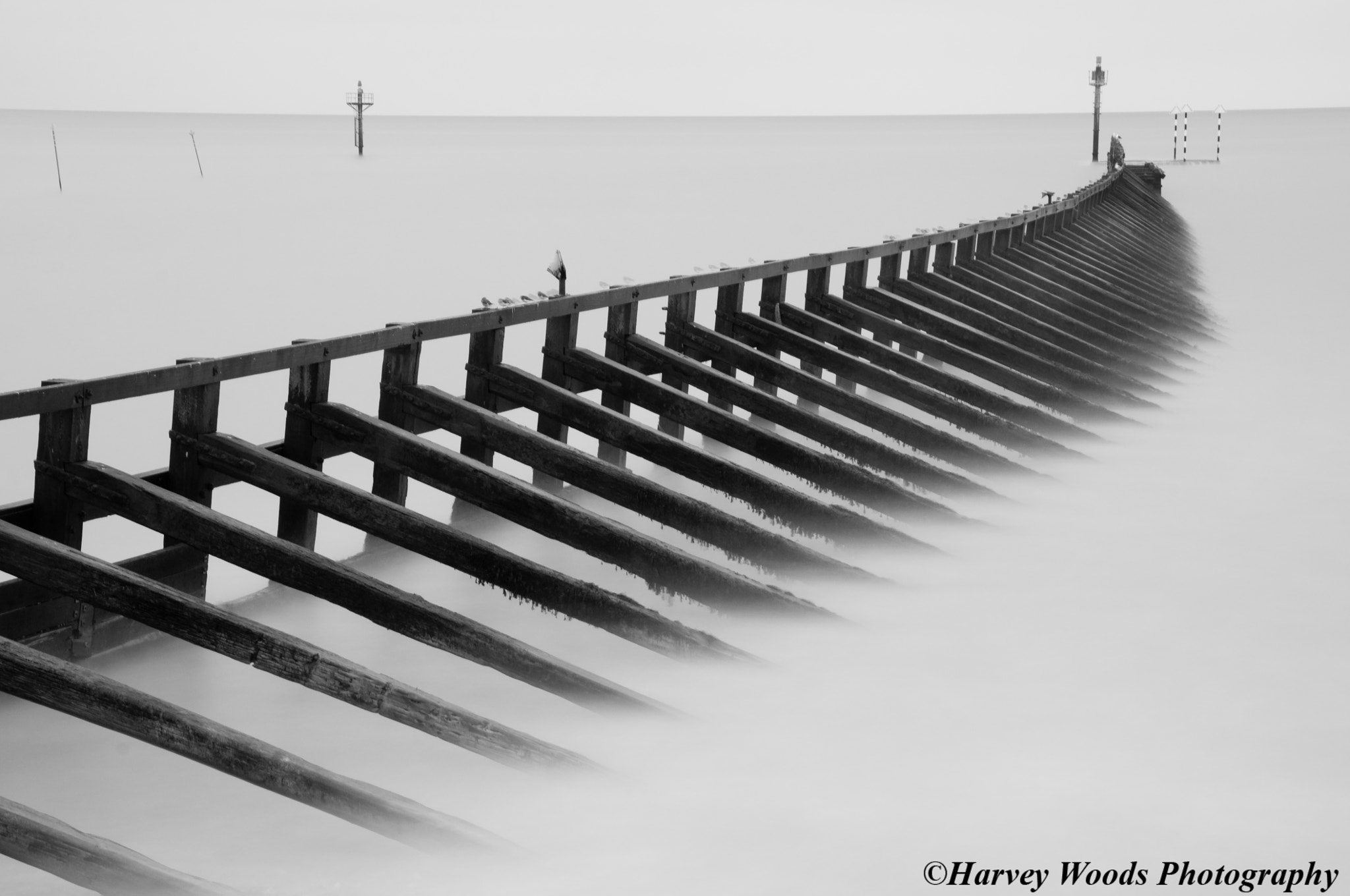 Photograph Long Exposure Jetty by Harvey Woods on 500px
