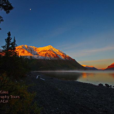 Kluane Sunrise, RICOH PENTAX K-3, Sigma AF 10-20mm F4-5.6 EX DC