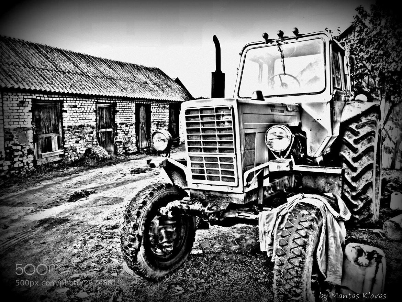 Photograph Traktor B&W by Mantas Klovas on 500px