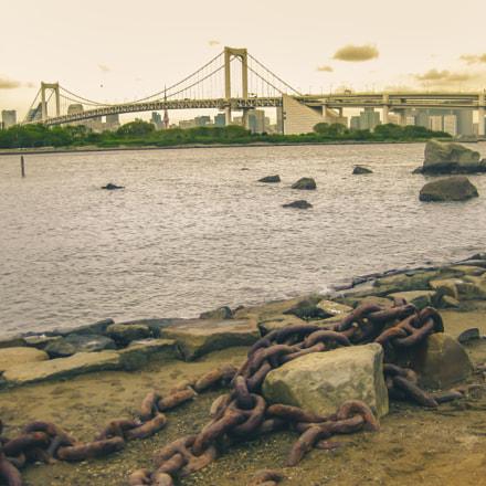 Tokyo's Rainbow Bridge, Canon POWERSHOT SD770 IS