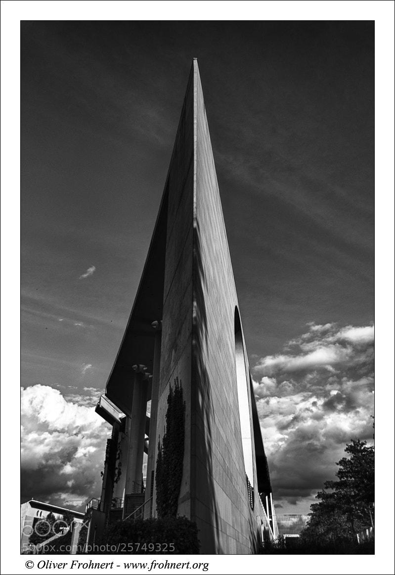 Photograph Bundeskanzleramt by Oliver Frohnert on 500px