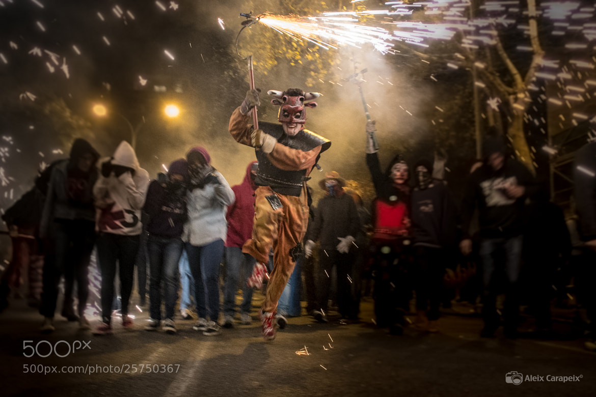 Photograph Correfoc by Aleix Carapeix on 500px