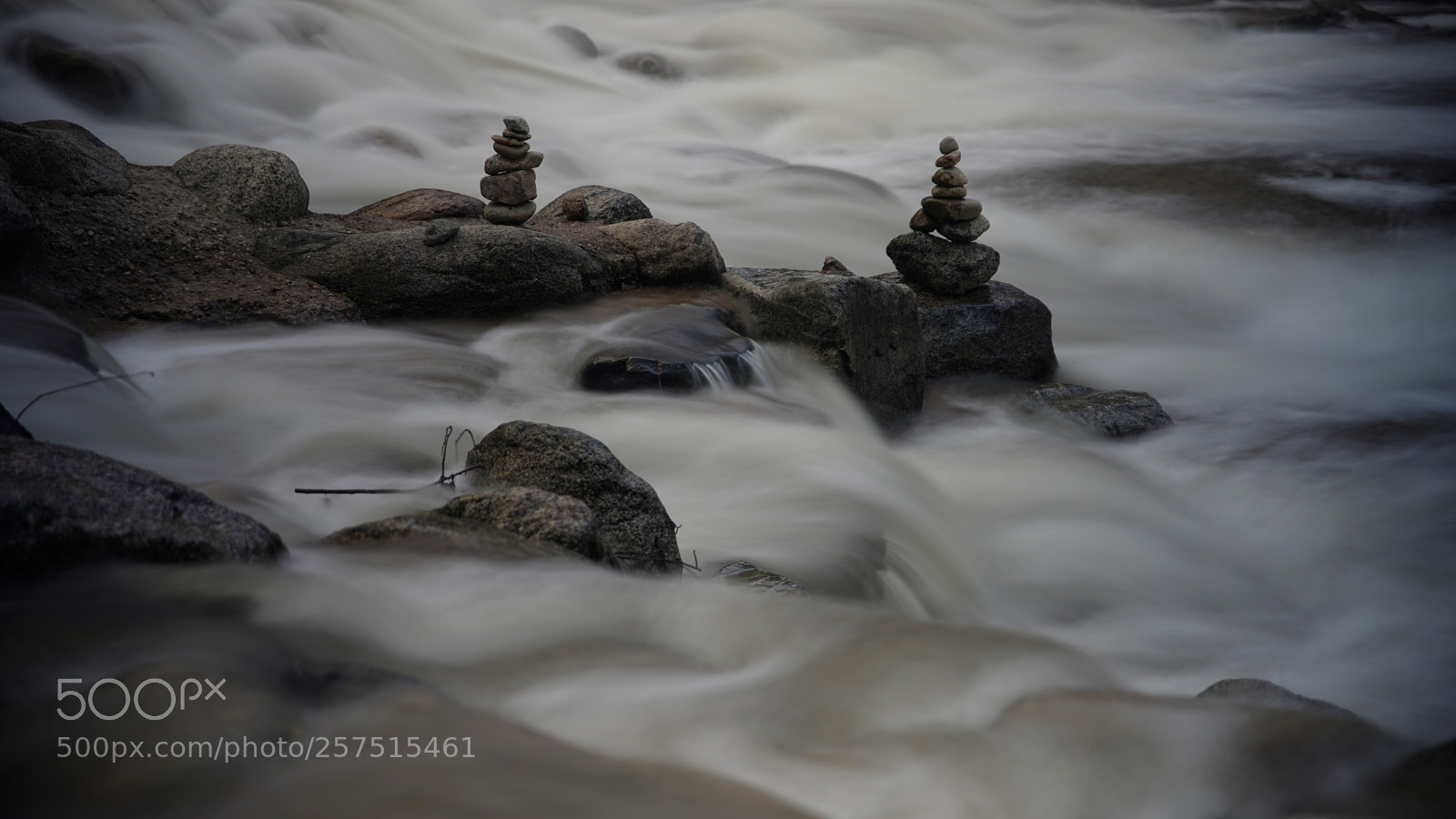 Creek Cairns, Sony ILCE-7RM2, Canon EF 400mm f/2.8L