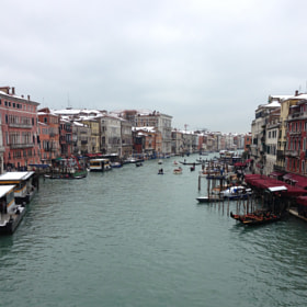 Venice in the snow  cold day by Bob Riach (Bob-Riach)) on 500px.com