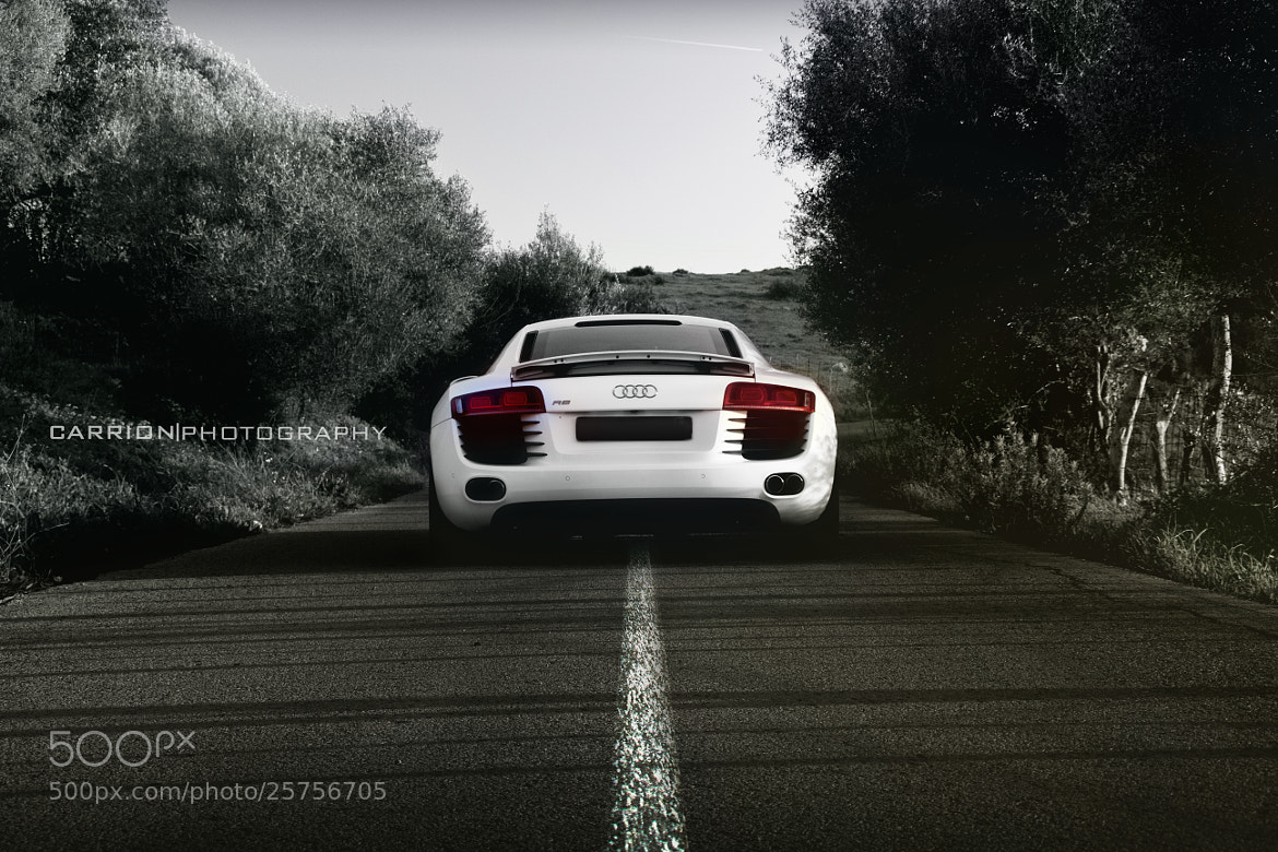 Photograph Audi R8 B&W by JJCarrion  on 500px