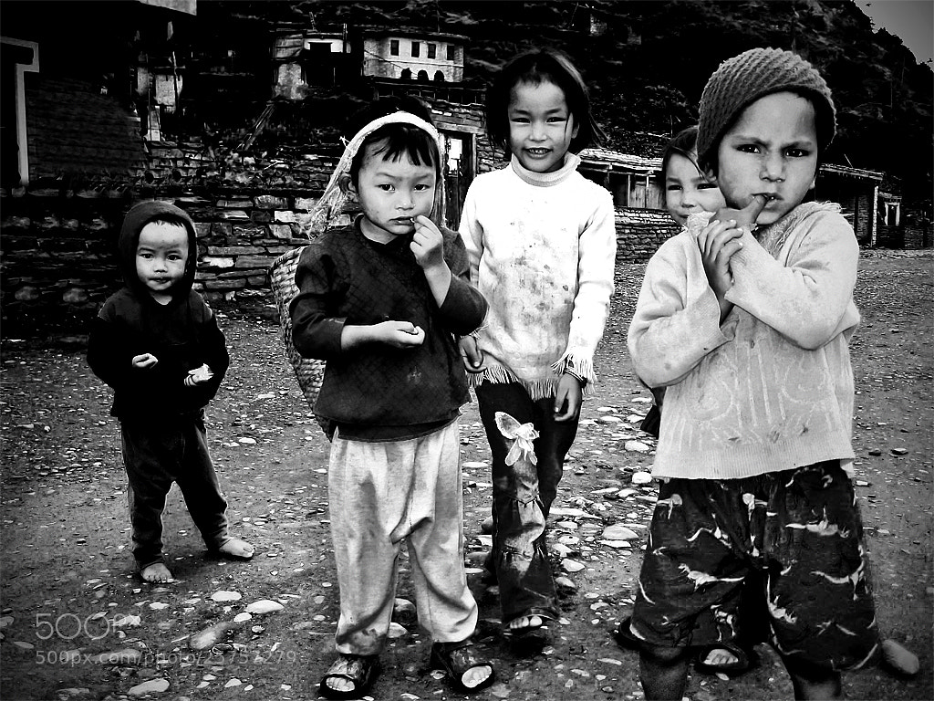 Photograph Nepalese children by Matteo Scalet on 500px