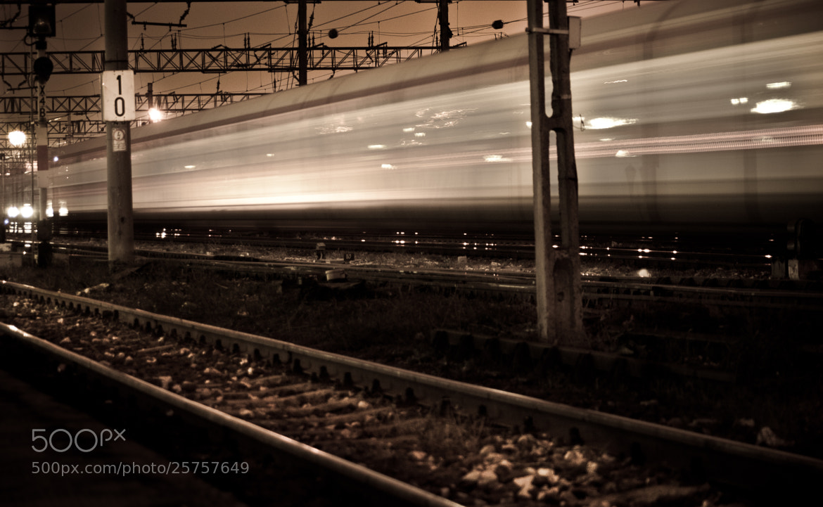 Photograph Ghoast train by Dima Andrei on 500px