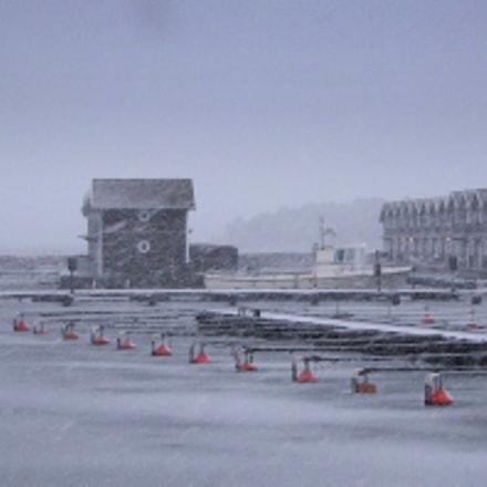 Sunnan Harbour, Mellerud. Sweden, Fujifilm FinePix S100FS