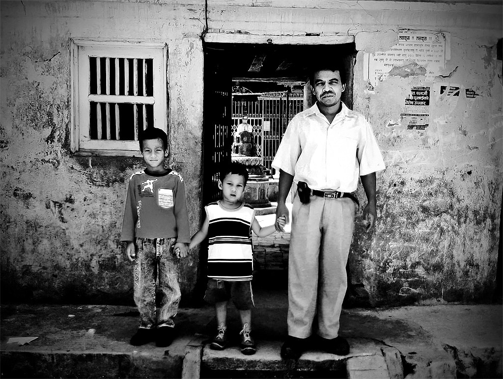Photograph Nepalese family by Matteo Scalet on 500px