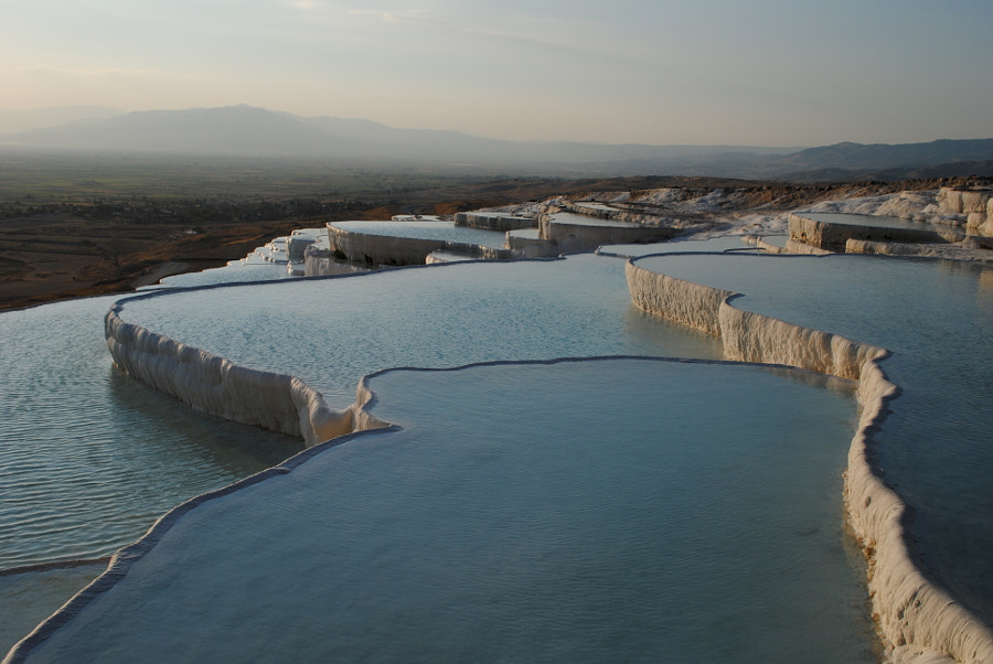 Sunset in Pamukkale by António Branco on 500px.com