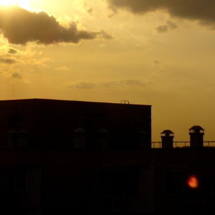 Spring Rooftop Dusk, Sony DSC-P120