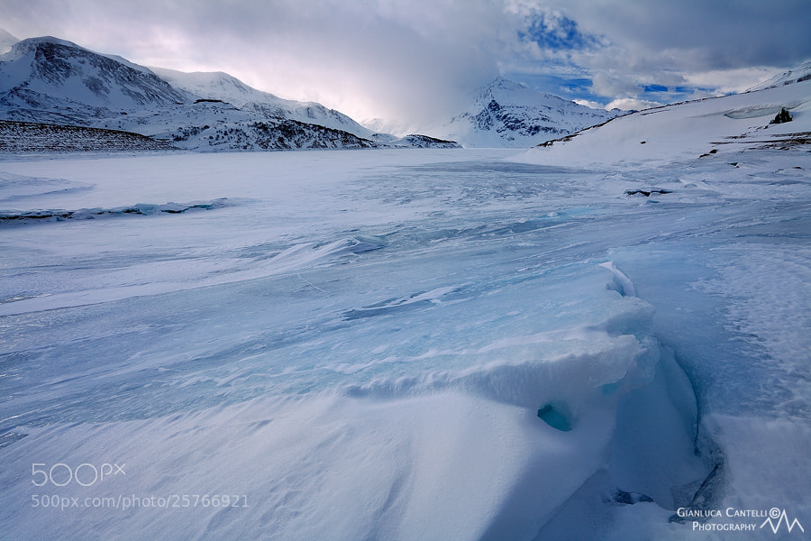 Photograph Frozen Crack by Gianluca Cantelli on 500px