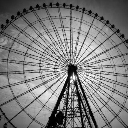 Ferris Wheel in Wuxi, Canon POWERSHOT A1100 IS