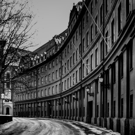 Alley in Munich Germany, Canon POWERSHOT S1 IS