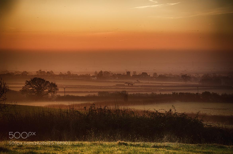 Photograph Misty Sunrise Over Marsh Gibbon. by Richard Lockwood on 500px