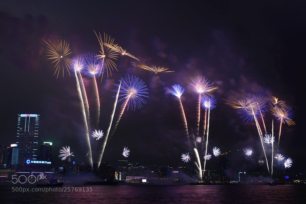 Photograph Chinese New Year Firework 2 (2013) by Hei Yu on 500px
