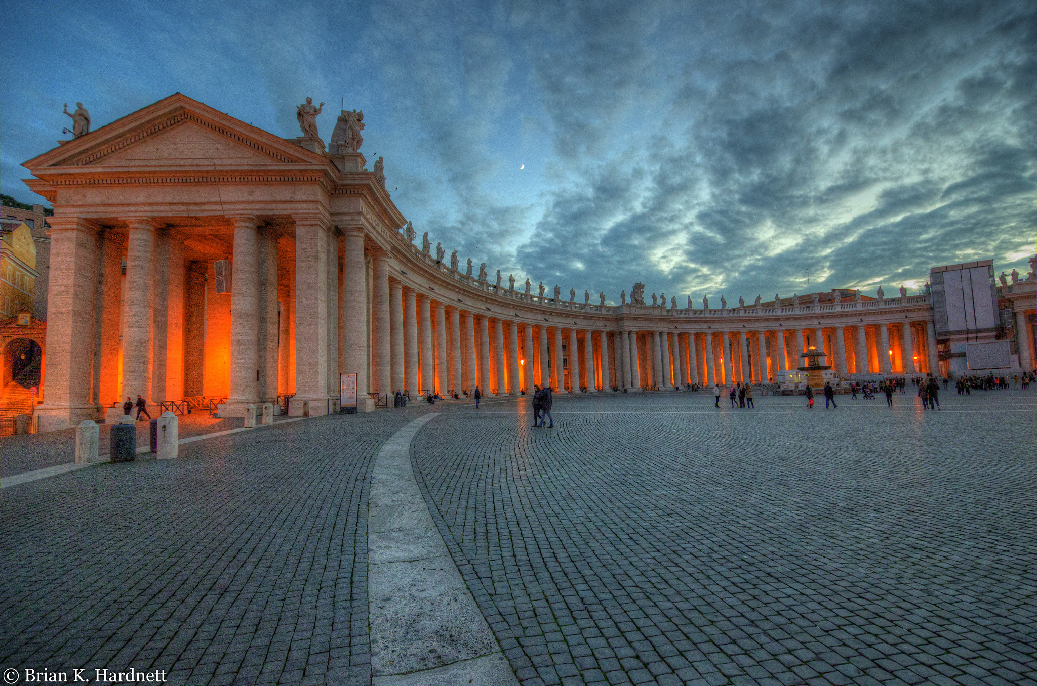 Photograph Colonnade @ St. Peter Square by Brian Hardnett on 500px