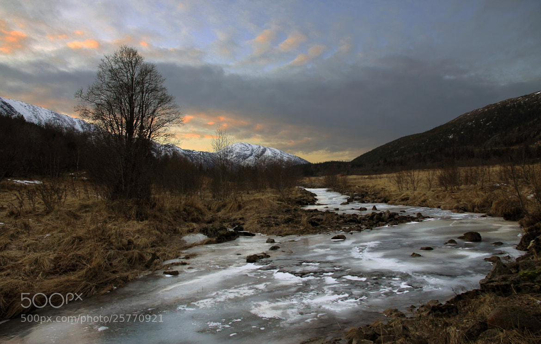 Photograph A Frozen River by Kent Lennart Vassdal on 500px