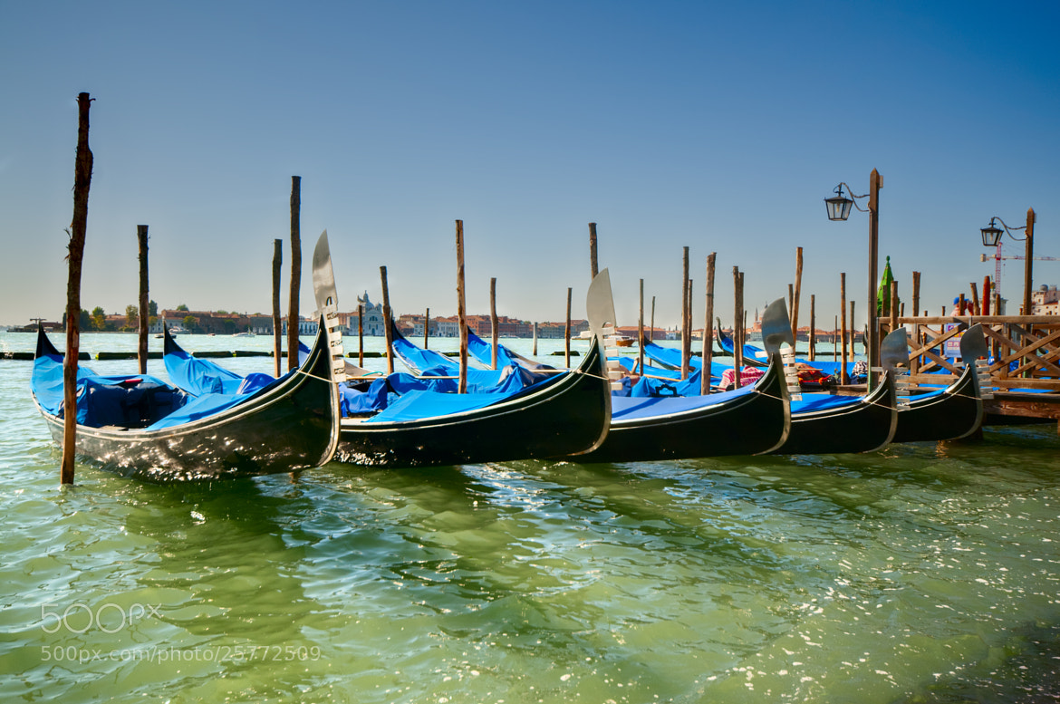 Photograph Gondolas in Venice by Paco López on 500px