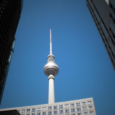 Berlino fernsehturm, Fujifilm FinePix S1000fd