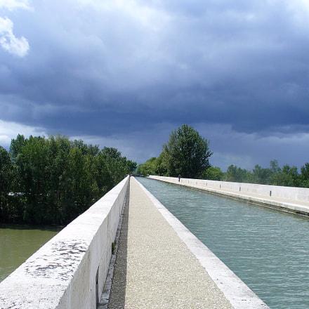 Perspective Pont Canal sur, Panasonic DMC-LZ5