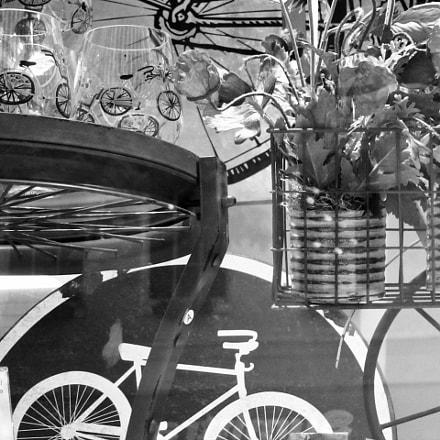Bikes Abstract, Canon POWERSHOT S90