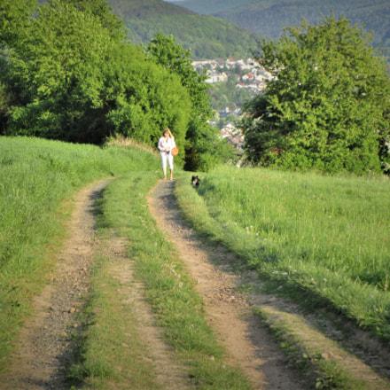 Auf dem Wanderweg, Canon IXUS 155