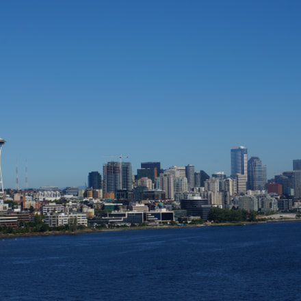 Close cityscape-Seattle, Sony NEX-5R, Sony E 18-55mm F3.5-5.6 OSS