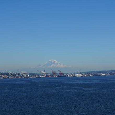 Mountain view-Seattle, Sony NEX-5R, Sony E 18-55mm F3.5-5.6 OSS