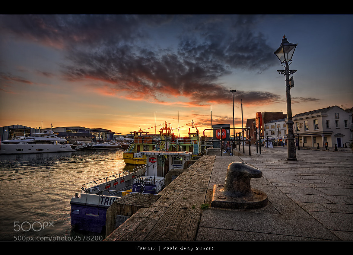 Photograph HDR - Poole Quay by Pawel Tomaszewicz on 500px