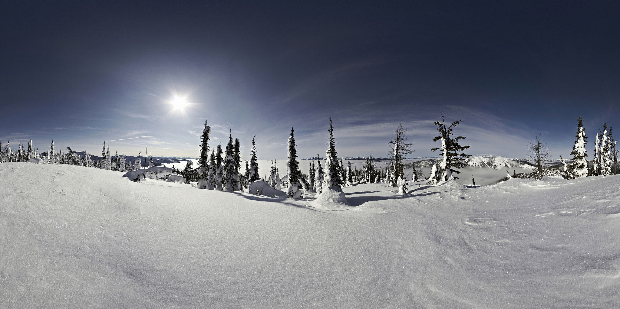 Photograph Cloud Invert Panoramic by Rob Antill on 500px