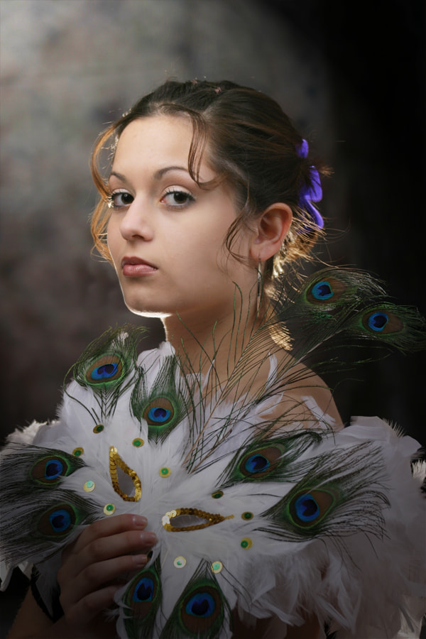 Photograph Peacock Kind of Gal by Michael Hays on 500px
