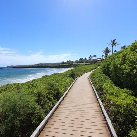 Kapalua promenade, Maui, Canon EOS 600D, Canon EF-S 10-22mm f/3.5-4.5 USM