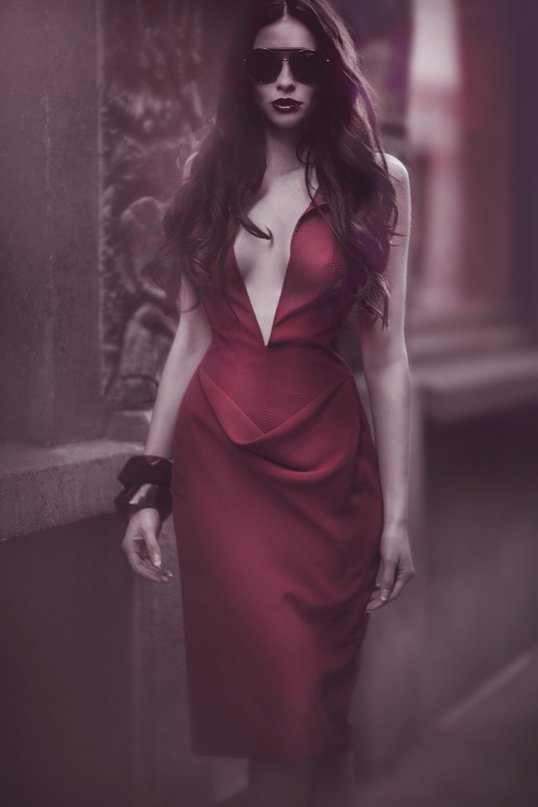 Photograph LADY IN RED by KATHERLINE LYNDIA Photography on 500px