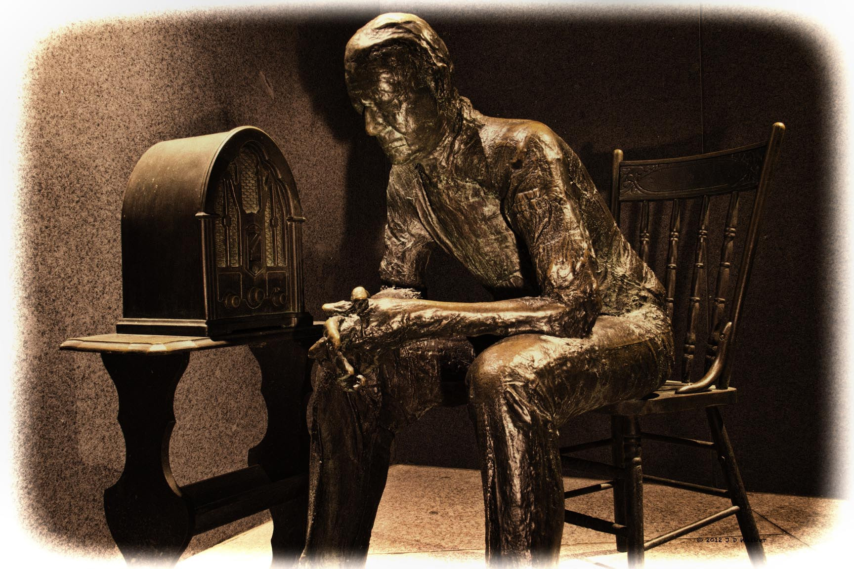 Photograph Hoping for Good News, FDR Memorial, Washington DC by Jim Walker on 500px